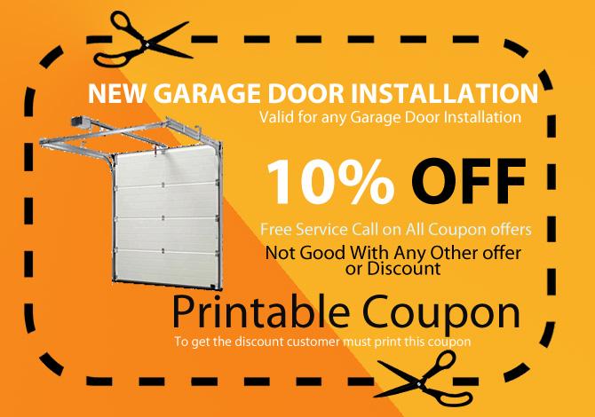 new garage door available